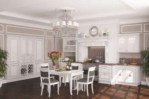 Кухня Афина массив - Мебельная фабрика «MipoLine»