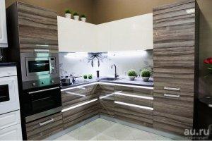 Кухня AGT с подсветкой - Мебельная фабрика «Элна»