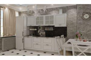 Кухня Акварель прямая - Мебельная фабрика «МИГ»