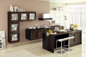 Кухня Альба с островом - Мебельная фабрика «MipoLine»