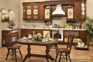Кухня Альба в стиле Прованс - Мебельная фабрика «Экомебель»