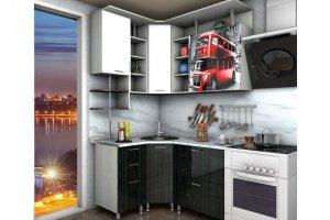 Кухня Александрия с фотопечатью - Мебельная фабрика «Средневолжская мебельная фабрика»