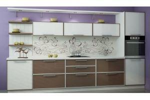 Кухня Алюминиум - Мебельная фабрика «Ликарион»