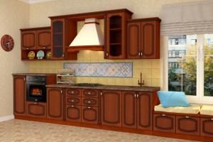 Кухня Анастасия - Мебельная фабрика «Континент-мебель»