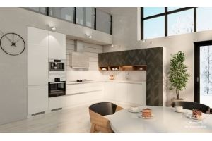 Кухня Ангара new - Мебельная фабрика «Молчанов»