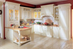 Кухня Анхель в классическом стиле - Мебельная фабрика «Оранжевый Кот»