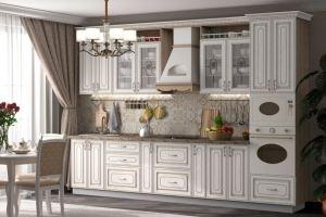 Кухня Анжелика с патинированными фасадами - Мебельная фабрика «Бител»