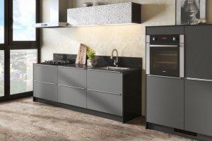 Современная кухня Арт-графит - Мебельная фабрика «Гамма-мебель»