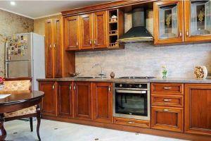 Кухня Арт из массива 002 - Мебельная фабрика «Арт-Тек мебель»
