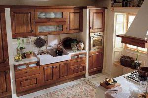 Кухня Арт из массива 003 - Мебельная фабрика «Арт-Тек мебель»