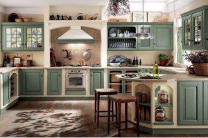 Кухня Арт из массива 007 - Мебельная фабрика «Арт-Тек мебель»