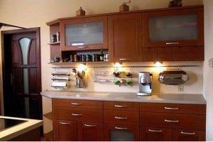 Кухня Арт из массива 011 - Мебельная фабрика «Арт-Тек мебель»