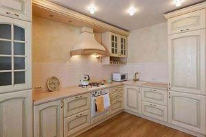 Кухня Арт из массива 012 - Мебельная фабрика «Арт-Тек мебель»