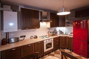 Кухня Арт из массива 015 - Мебельная фабрика «Арт-Тек мебель»