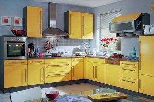 Кухня Арт ЛДСП 014 - Мебельная фабрика «Арт-Тек мебель»