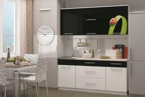 Мини кухня Асоль с фотопечатью - Мебельная фабрика «Д.А.Р. Мебель»