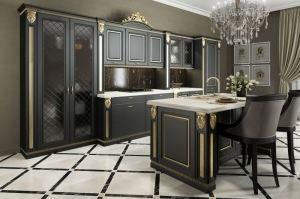 Кухня Аврора черная - Мебельная фабрика «GRETA»