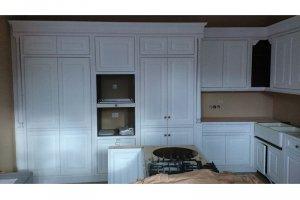 Кухня белая из массива - Мебельная фабрика «Винтаж»
