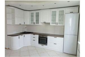 Кухня белая матовая - Мебельная фабрика «ПАТЭ»