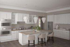 Кухня белая Милан - Мебельная фабрика «Milan»
