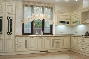 Кухня белая угловая - Мебельная фабрика «Рось»