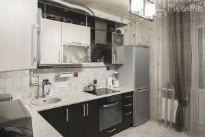 Кухня белёный дуб и венге с фасадами МДФ  - Мебельная фабрика «Маруся мебель»