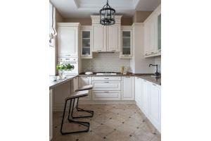 Кухня береза Слоновая кость - Мебельная фабрика «ARVA»