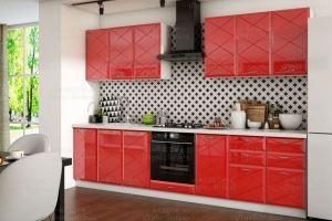 Кухня Бостон Красная - Мебельная фабрика «Форес-Мебель»