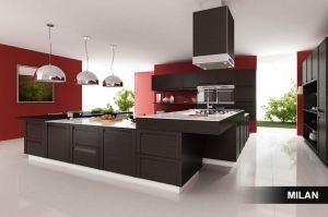 Кухня Будапешт с островом - Мебельная фабрика «Milan»
