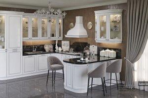 Кухня Бьянка Сильвер - Мебельная фабрика «Zetta»