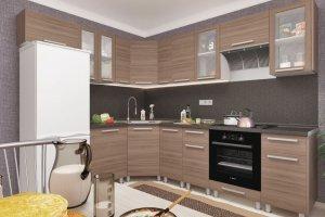 Кухня угловая ЛДСП Дельта 3 - Мебельная фабрика «Пирамида»