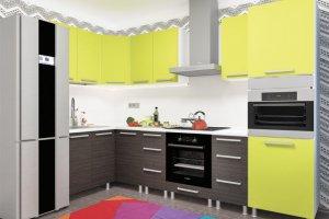 Кухня угловая Дельта 4 - Мебельная фабрика «Пирамида»