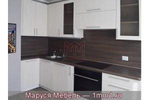 Кухня ДСП под белое дерево - Мебельная фабрика «Маруся мебель»