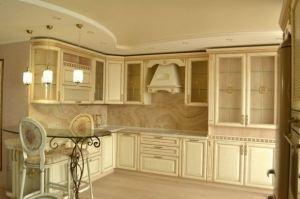 Кухня дуб натуральный Фокко - Мебельная фабрика «Rits»