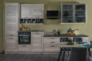 Кухня Дублин прямая - Мебельная фабрика «SbkHome»