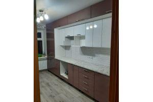 Кухня двухуровневая прямая - Мебельная фабрика «МЭК»