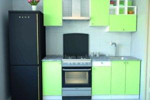 Кухня эконом 2 - Мебельная фабрика «Континент-мебель»