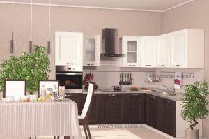 Кухня Экошпон 5 - Мебельная фабрика «Элана»