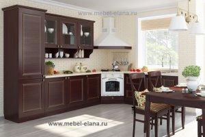 Кухня Экошпон 6 - Мебельная фабрика «Элана»