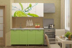 Кухня Эксклюзив с фотопечатными фасадами - Мебельная фабрика «Д.А.Р. Мебель»