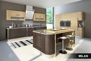 Кухня Эльба с островом - Мебельная фабрика «Milan»