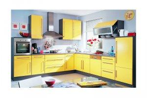 КУХНЯ желтая ЕЛИЗАВЕТА  - Мебельная фабрика «КухниДар»