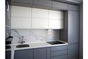 Кухня прямая эмаль - Мебельная фабрика «Элна»