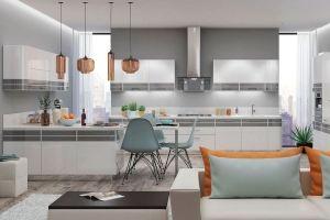 Кухня эмаль Estel - Мебельная фабрика «KUCHENBERG»