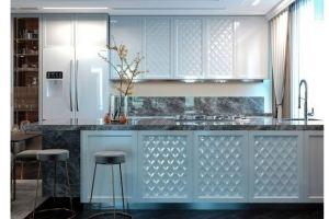 Кухня Эмаль глянец - Мебельная фабрика «VELDE»