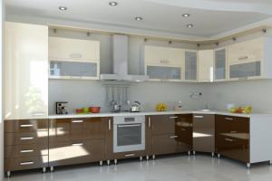 Кухня Эмаль Глянец 5 - Мебельная фабрика «Элана»