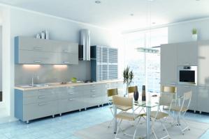 Кухня Эмаль Глянец 9 - Мебельная фабрика «Элана»