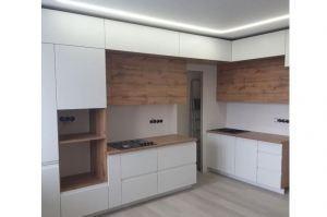 Кухня Эмаль матовая с интегрированной ручкой - Мебельная фабрика «Таита»