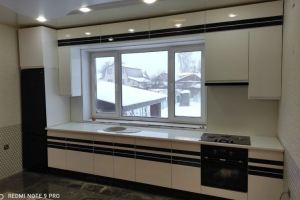Кухня эмаль+шпон - Мебельная фабрика «МЭК»