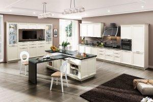 Кухня Эмилия квадро с островом - Мебельная фабрика «Кухонный двор» г. Малаховка